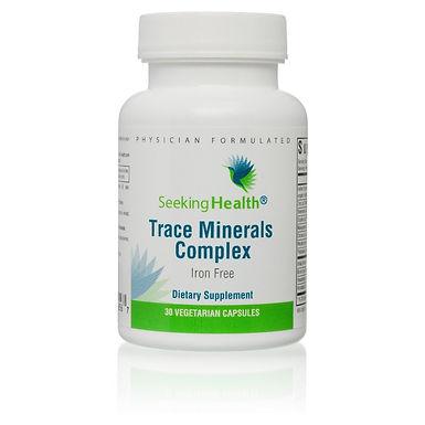 Trace Minerals Complex Iron Free - 30 Capsules