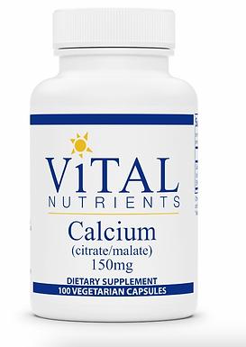 Kalcium (citrát és malát) 150 mg - 100 kapszula