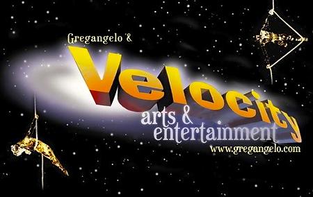 Gregangelo & Velocity arts & entertainment