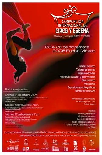 Convencion Internacional de Circo Y Escena poster