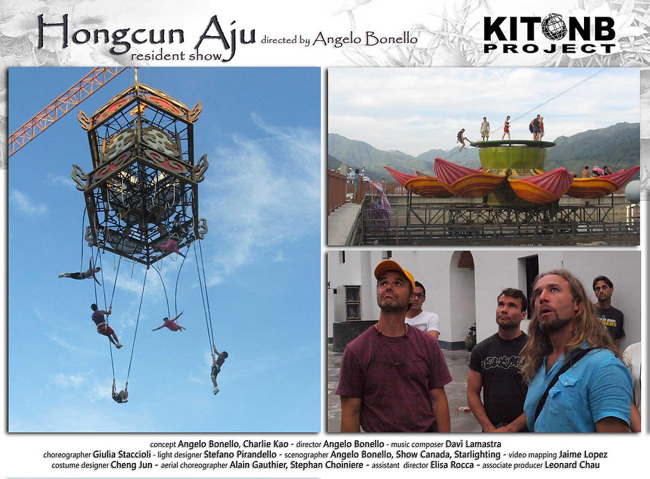Hongcun Aju resident show directed by Angelo Bonello kitonb project