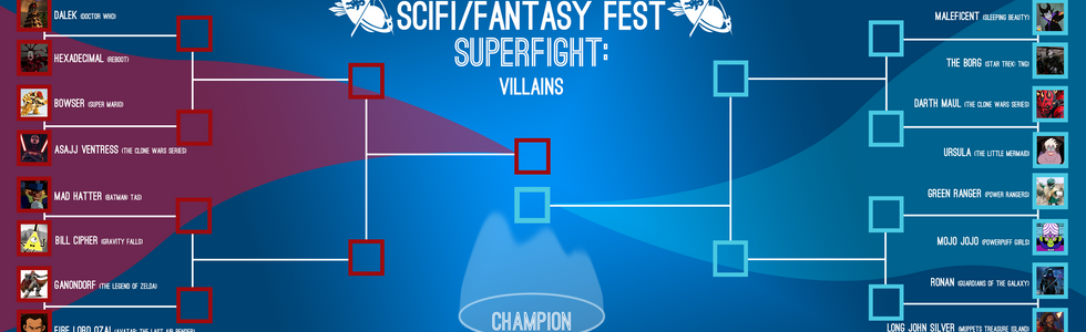 2020 SuperFight Bracket