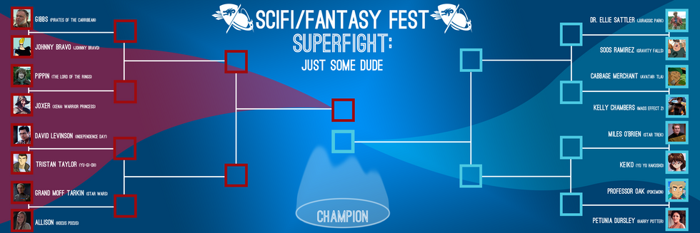 2021 SuperFight Bracket: Just Some Dude Edition