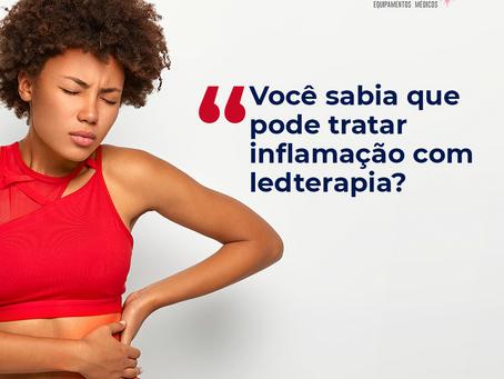 Você sabia que pode tratar inflamação com Ledterapia?