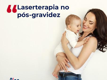 Laserterapia no pós-gravidez