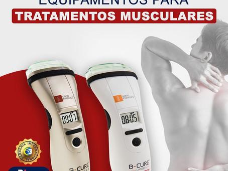 Equipamentos para tratamentos musculares