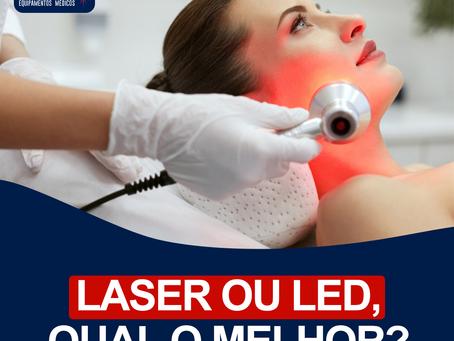 Laser ou Led? Qual o melhor?