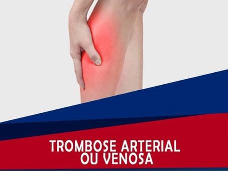 Trombose arterial ou venosa