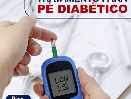 Tratamento para pé diabético
