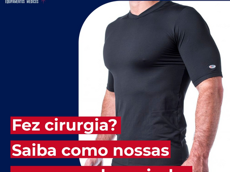 Fez cirurgia? Saiba como nossas roupas podem ajudar!