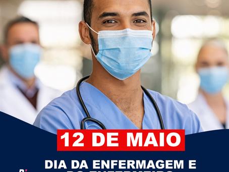 12 de Maio - Dia da Enfermagem e do Enfermeiro.