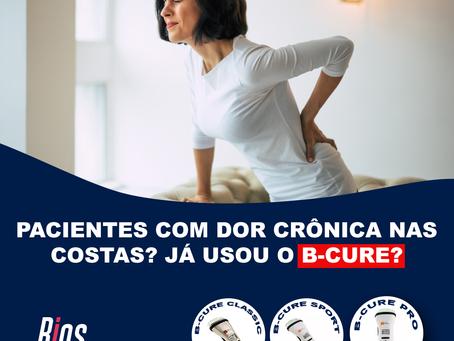 Pacientes com dor crônica nas costas? Já usou o B-Cure?