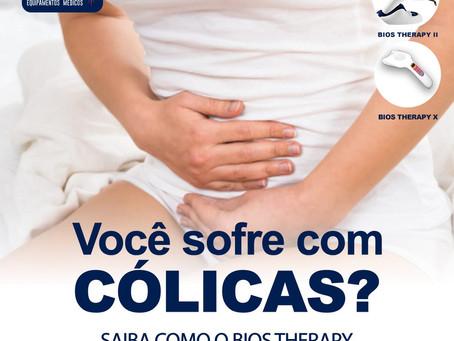 Você sofre com cólicas? Saiba como o Bios Therapy pode ajudar.