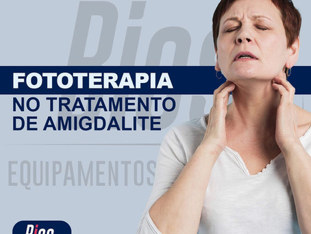 Fototerapia no tratamento de amigdalite