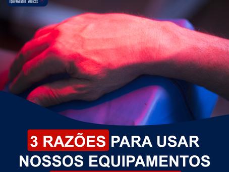 3 Razões para usar nossos equipamentos em sua clínica