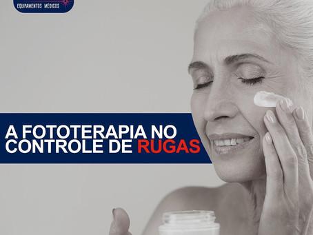 A fototerapia no controle das rugas