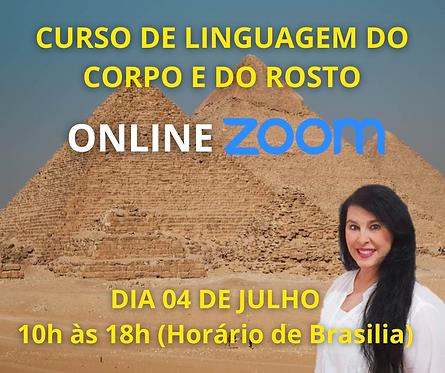 CURSO ONLINE - LINGUAGEM DO CORPO E DO ROSTO