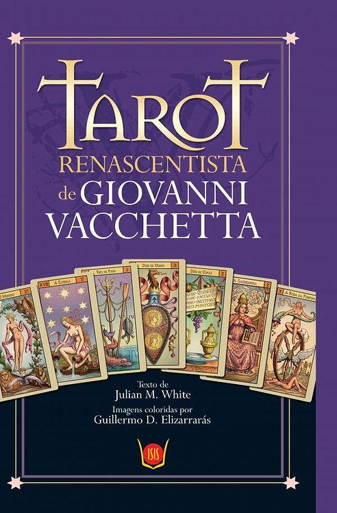 Tarot Renascentista de Giovanni Vacchetta - Livro e 78 Cartas