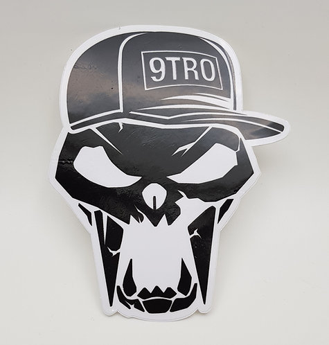 Sticker. Sabertooth Skull (Ver 3.)