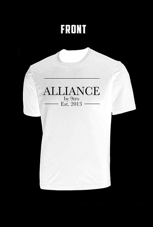 Tee. Alliance Est.2013 (White)