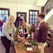 Christmas Wreath/Grinch Tree Making Class