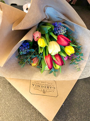 Spring Blooms Hand-Tied Bouquet