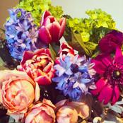 Calgary Flower Arrangement Spring Colourful
