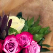 Flowers Wrapped Up for Delivery