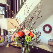 Spring Arrangment with Branches