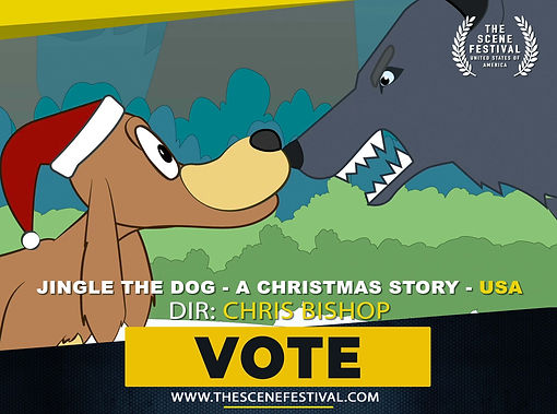 Jingle the Dog - A Christmas Story VOTE.
