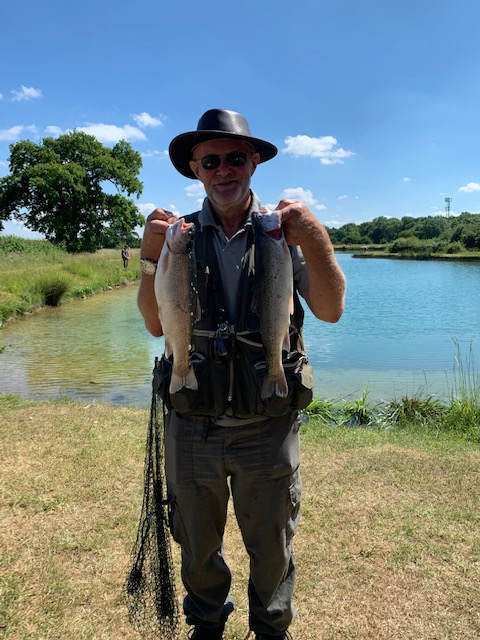 Two fish on a tough day - 15.06.2020