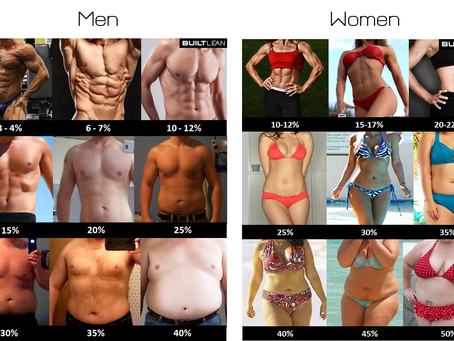 Body fat percentage? 體脂比率?