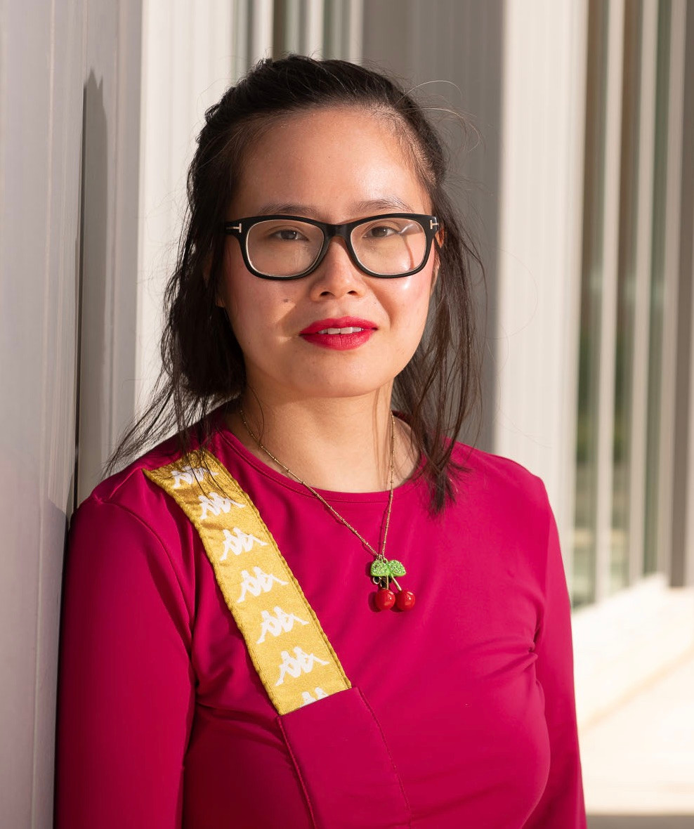 Photo of the author, Dorothy Chan, courtesy of Bill Hoepner, University of Wisconsin-Eau Claire