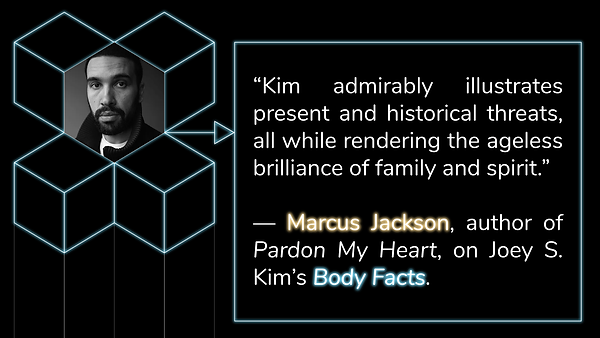Advance Praise for BODY FACTS from Marcus Jackson