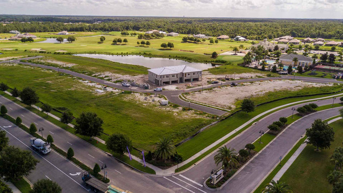 Golf Club Villas (Aerial Drone Photography)