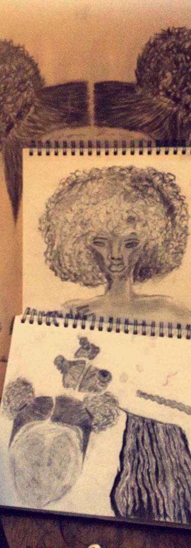 Her Hair Everywhere