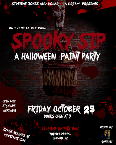 _ArtxKey Halloween Spooky Sip