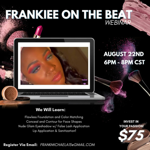Frankiee on the Beat Video Flyer
