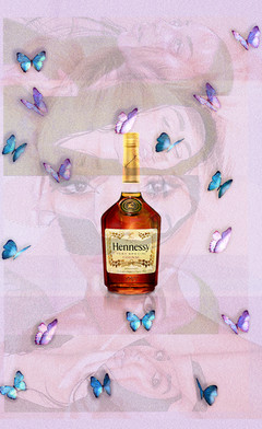 """...Butterflies & Hennessy"""