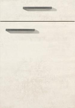 White concrete reproduction