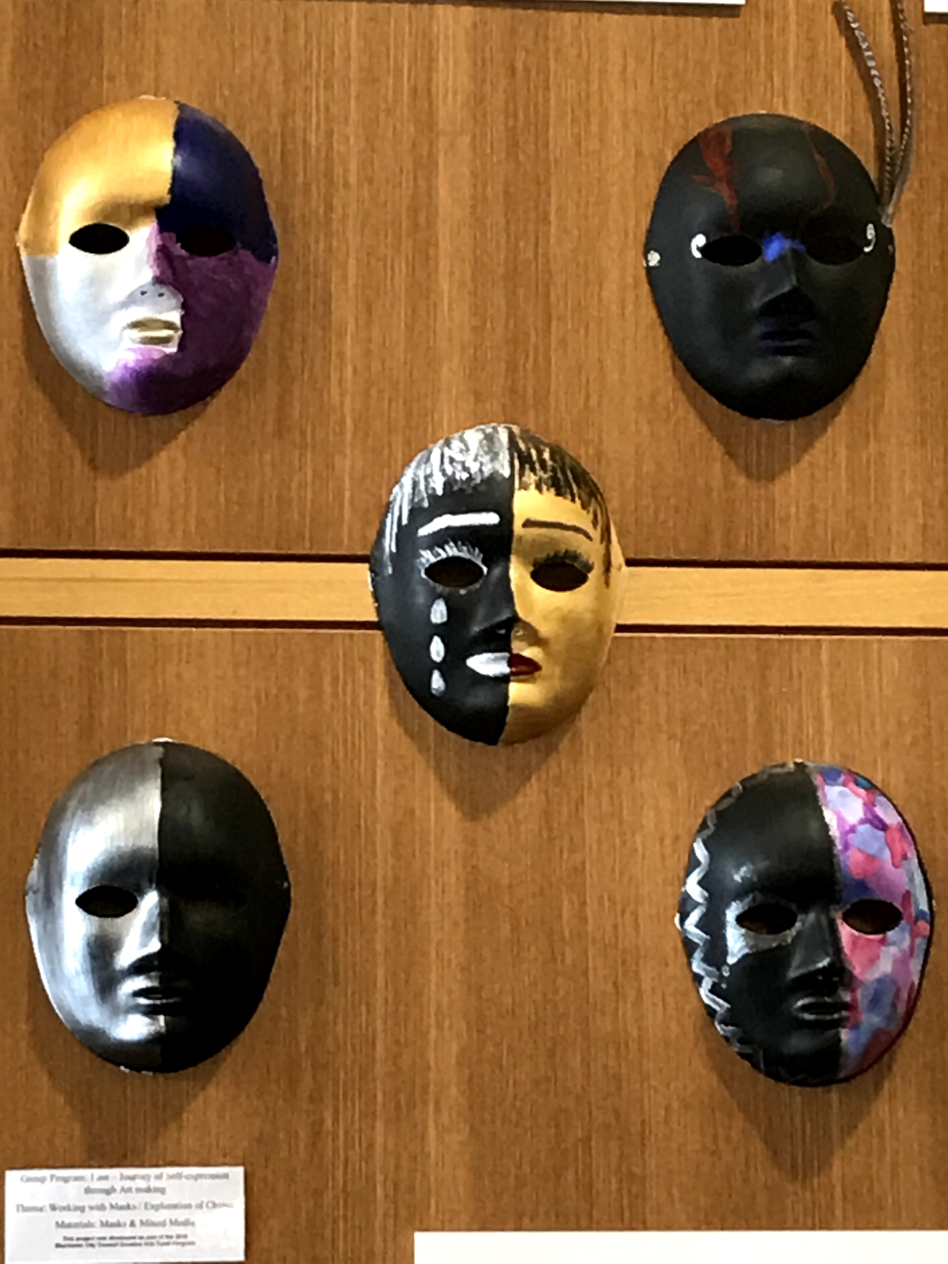 Close ups - Collection of Masks
