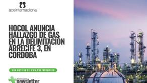 Hocol anuncia hallazgo de gas en la delimitación Arrecife 3, en Córdoba