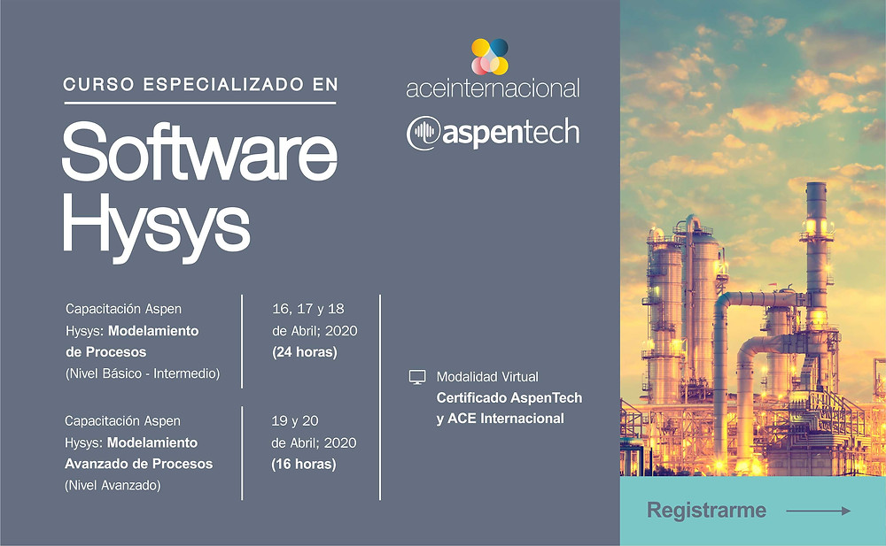 Curso Software Hysys - ACE Internacional