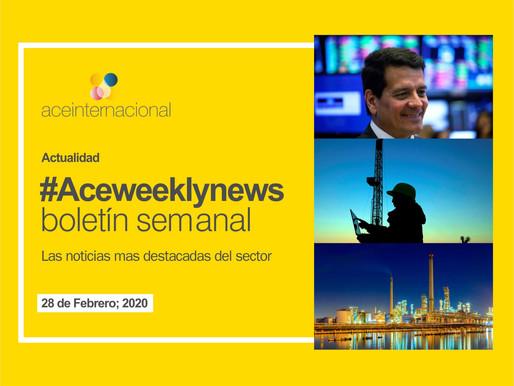 #Aceweeklynews: Las noticias destacadas de la semana para el sector energético. 28 de Febrero; 2020