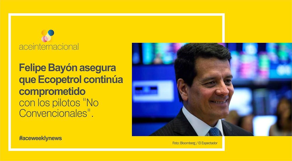 Noticias Semanales ACE Internacional / Ecopetrol Pilotos No Convencionales