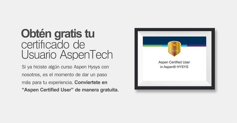 Aspen Certified User - Hysys