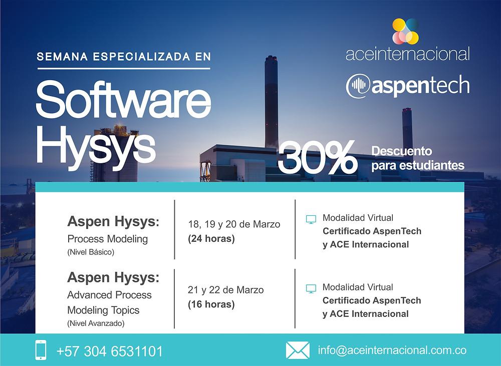 Curso Software Hysys - ACE Internacional