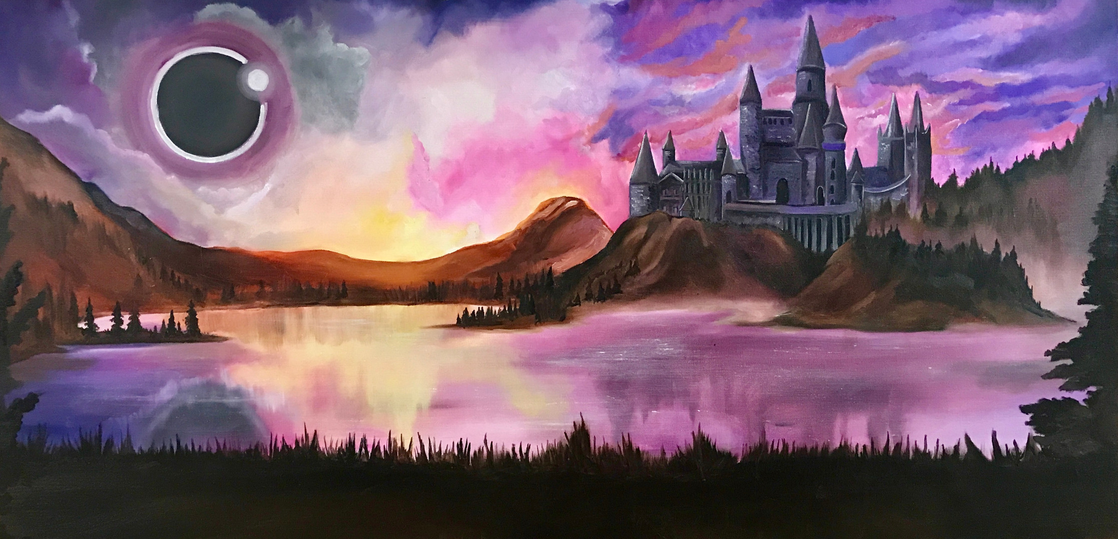 Eclipsed Castle