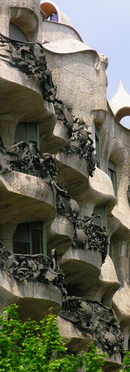 017 La Pedrera - Gaudi.JPG