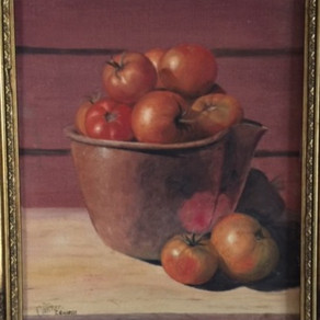 Tomatoes In A Pewter Pot